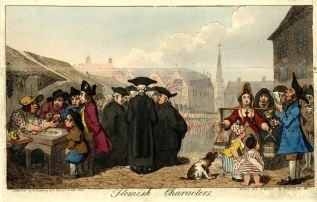 1793 gillray flemish characters