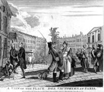 Brandoin, Place Victoire a Paris, 1771