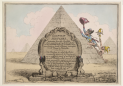 Gillray, Egyptian Sketches, 1799