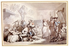 Rowlandson, French Barracks, 1786