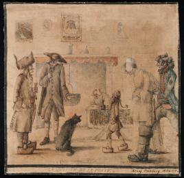 Bunbury, Cuisine de la Poste, 1770