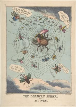 Rowlandson, Corsican Spider, 1808