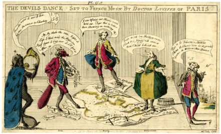 Anon, The Devil's Dance, 1756