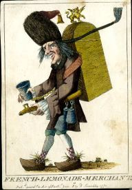 Anon, French Lemonade Merchant, 1771