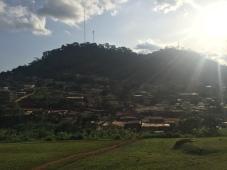 Hills in Yaoundé