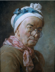 Chardin Self Portrait