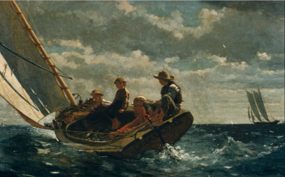 Winslow Homer, Breezing Up